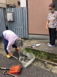 排水溝掃除2